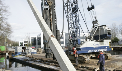 Prefab betonpalen leverancier